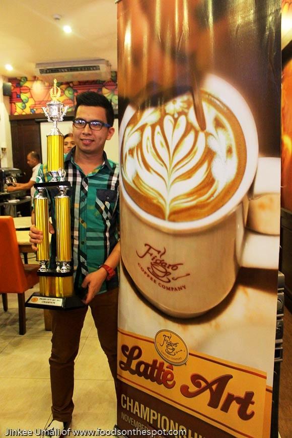 Figaro Latte Art 2015