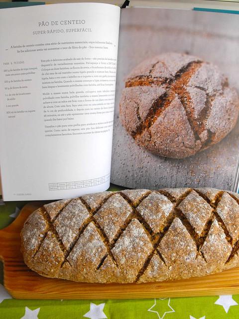 Pão de centeio super fácil… mesmo!