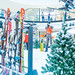 foto: Arkády Pankrác V zajetí lyží