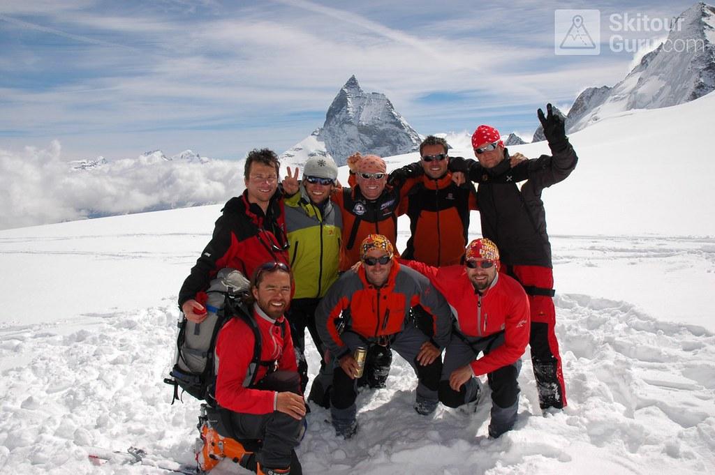 Haute Route Chamonix-Zermatt, Col Valpelline, Walliser Alpen, Switzerland