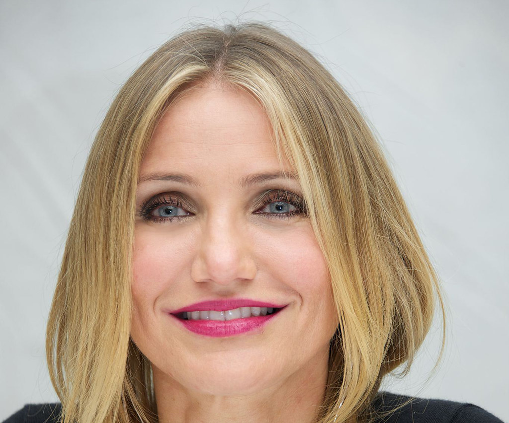 Камерон Диас — Пресс-конференция «Энни» 2014 – 19