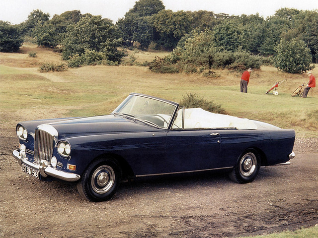 Bentley S3 Continental Convertible 1962 года