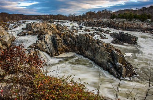 Class 5 Rapids: Great Falls in Late Autumn by Geoff Livingston