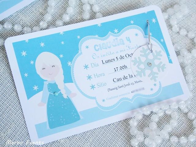 Invitaciones cumpleaños Frozen