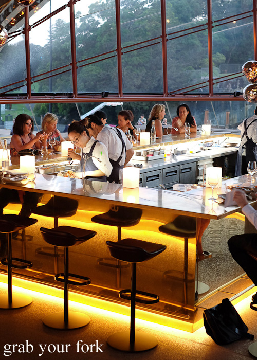 Cured and Cultured Bar at Bennelong Restaurant, Sydney food blog restaurant review