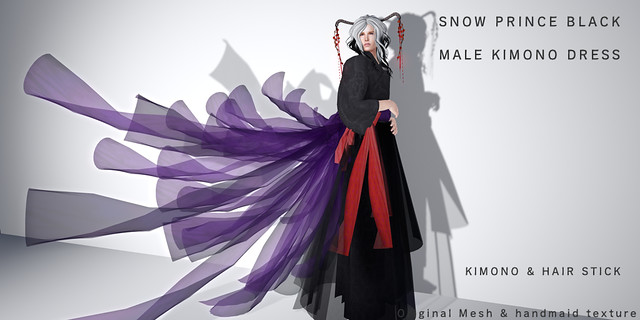 *NAMINOKE*SNOW PRINCE Black