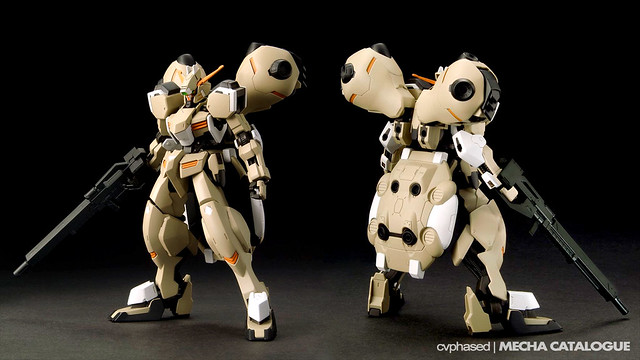 HG IBO (Unidentified MS) - Colored Prototype Shots
