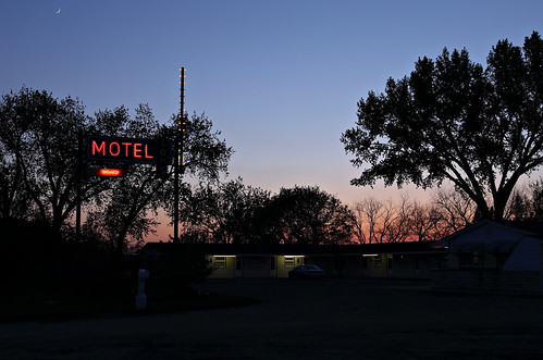 Tops Motel, Route 10, Sterling, ND