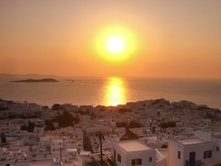 Mykonos Sonnenuntergang sunset