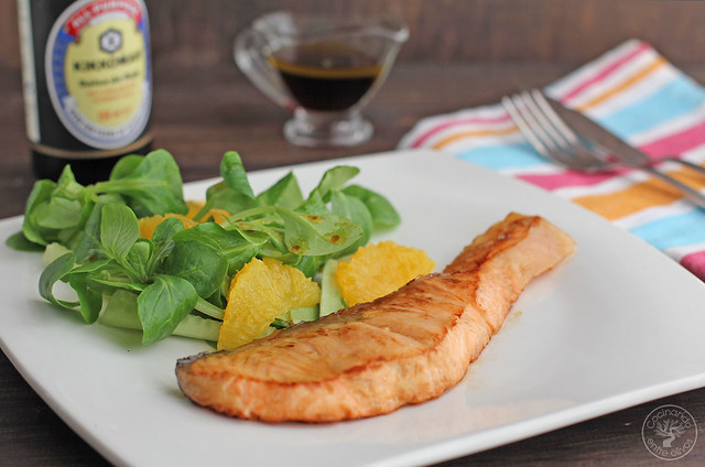 Salmón con lima y ensalada de naranja y pepino www.cocinandoentreolivos.com (3)