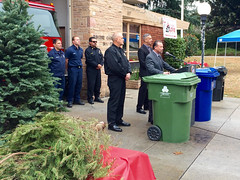 City of L.A.Officials Announce 2015 Christmas Tree Recycling Program