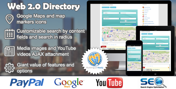 Codecanyon Web 2.0 Directory plugin for WordPress v1.11.3