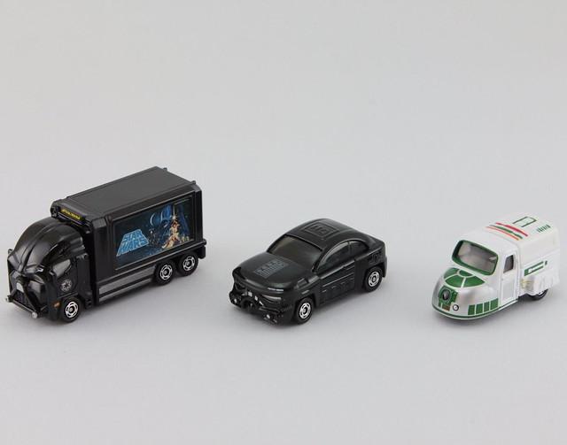 TOMICA 《星際大戰》主題合金小車 【超商限定版】!