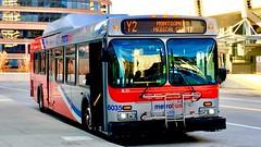 WMATA Metrobus 2005 New Flyer DE40LF #6035