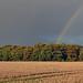 Rainbow at sunset by AndyorDij