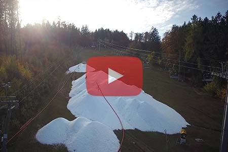 Monínec: nahlédněte do továrny na sníh (+ video)