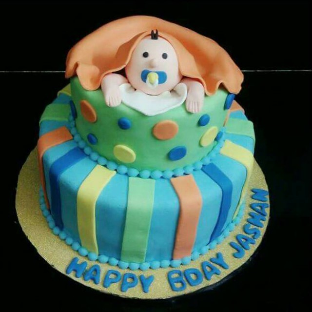 Cake by DrJasneet Kaur of by the name of Lucklicious