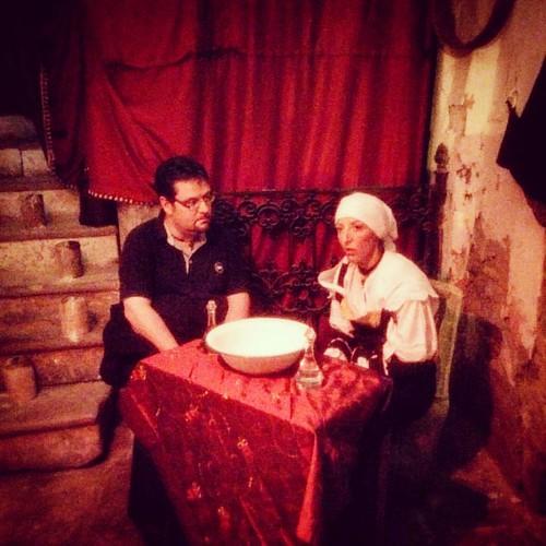 Dalla Masciara per un consulto sul malocchio. Complimenti alla comunità di #Albanodilucania per la notte della magia #basilicataturistica #basilicata