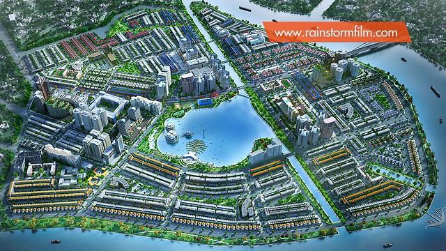Masterplan Van Phuc Riverside