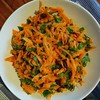... And turned most of the carrots into this salad.
