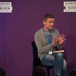 Matt Whyman | Author Matt Whyman speaks to school children about his delightfully grim The Savages © Alan McCredie