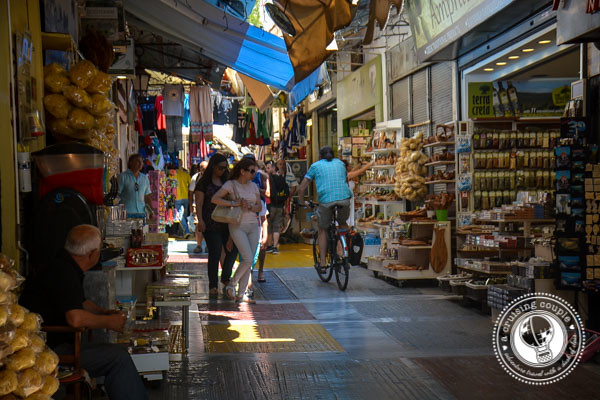 Shopping in Monastiraki Athens