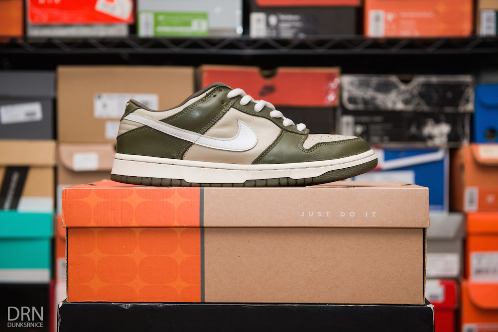 Olive Dunk Lows.