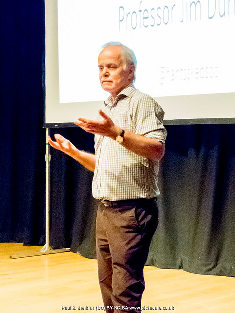 GM Food for Thought — with Professor Jim Dunwell at Winchester Skeptics