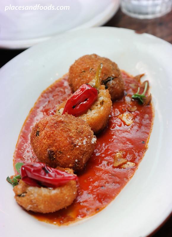 jamie's italian perth crispy aranchini