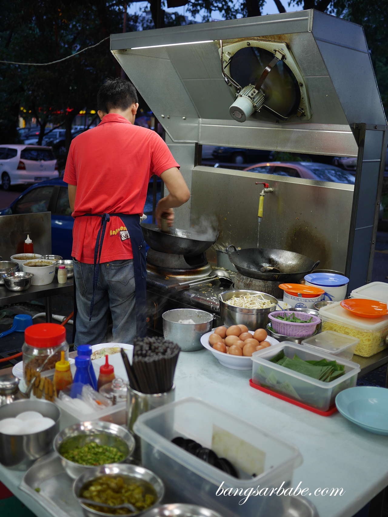 Danny Penang Tua Pan - Cooking Station