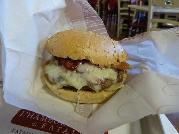 burger eataly turin