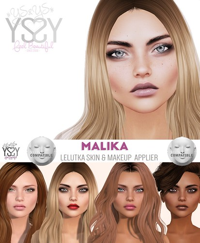 *YS&YS* Malika Appliers for Lelutka Heads