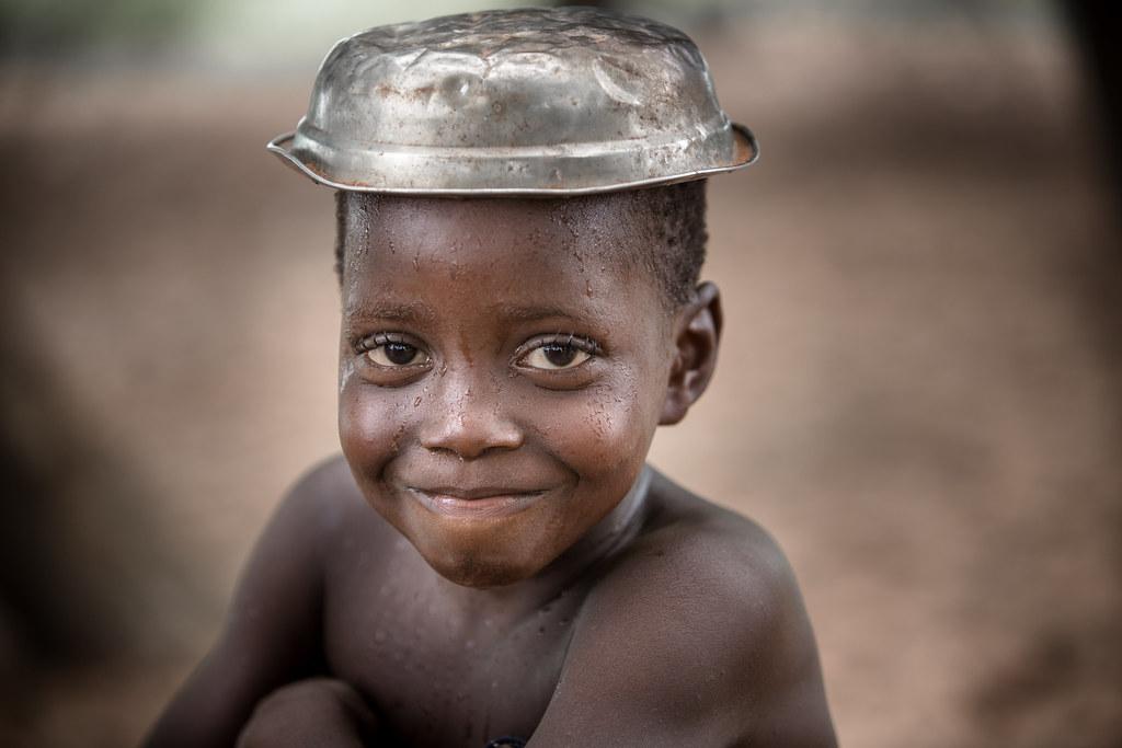 Benin: le comique.