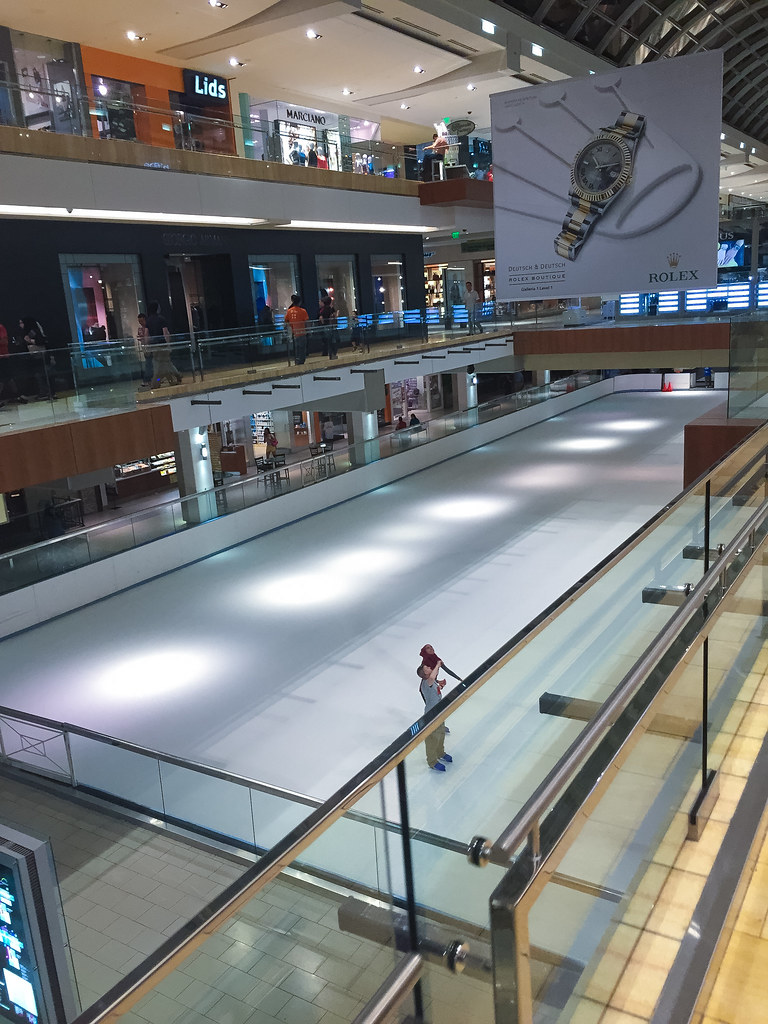 The Galleria Mall Ice Skating Rink