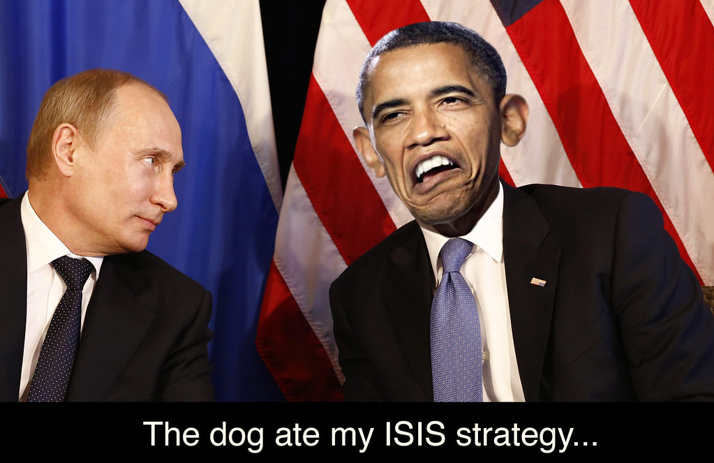 THE DOG ATE MY ISIS STRATEGY