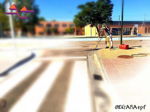 Villanueva de Gállego, #Zaragoza #Leica #aragón #work #photooftheday #surveyland #realsurveyors #topografia #Saragossa #leicageosystems #totalstation #survey #surveyor #surveying #surveylife #landsurveyor #landsurveying #geodesy  #geophysics #geomatics #d
