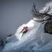 Powder turn with Adrien Coirier by Tristan Shu
