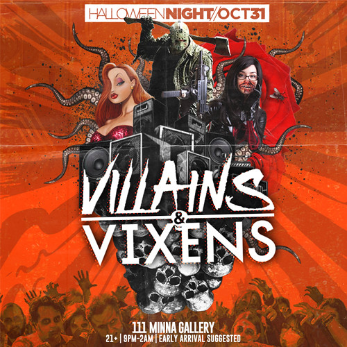 Oct 31st - Villains & Vixens Halloween NITE SF