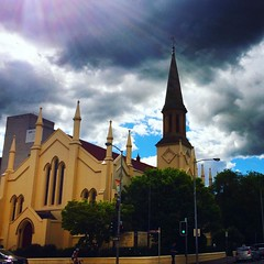 Launceston the third oldest town in Australia has its share of oldish buildings. Not quite as old as those in Europe but still stately. #upsticksngo #Tasmania  #travel #traveltheworld #iphonephotography