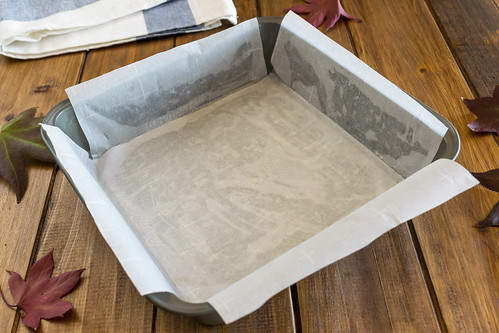 a parchment paper sling