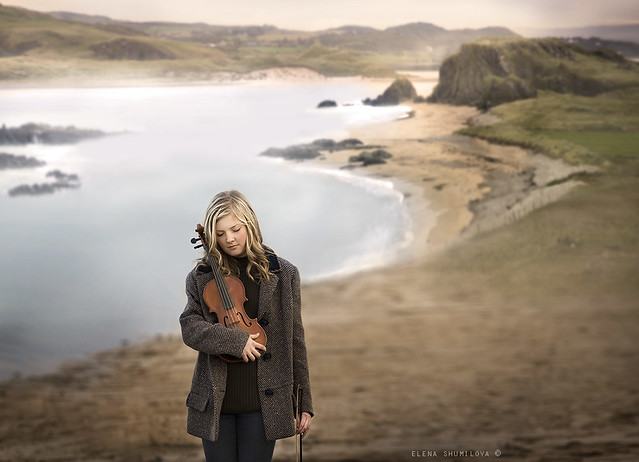 aleshurik - ..Violin.. the picture from my workshop in Ireland