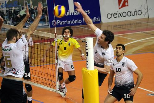 Voleibol: Vitória SC 3-2 Atlântico da Madalena