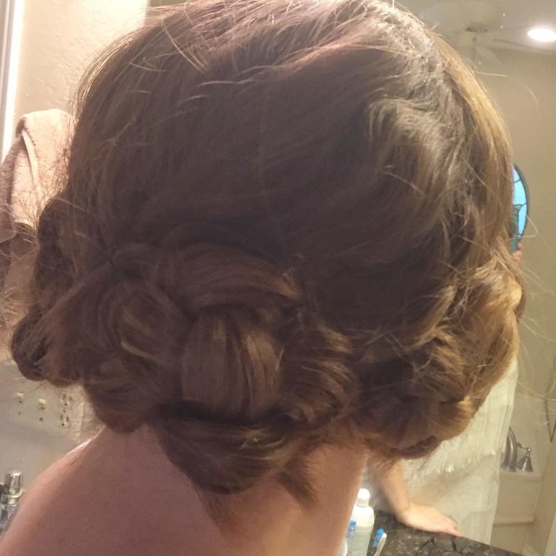 Flapper Costume - Hair