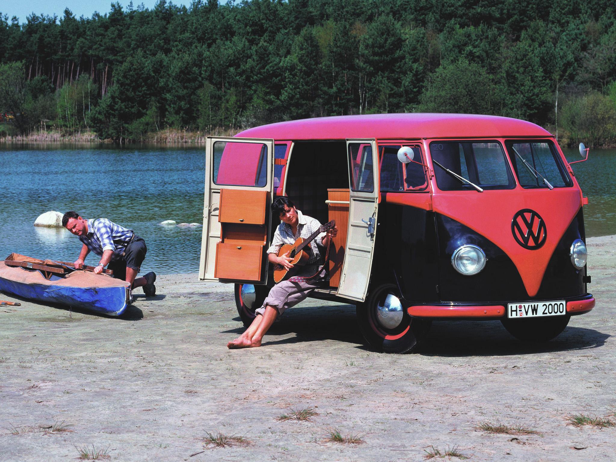 Минивэн Volkswagen T1 Kombi. 1950 - 1955 годы