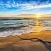 Golden sand by Richard Larssen