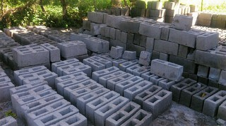 Concrete Blocks Ready to Use