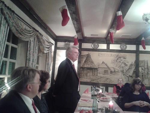 Weihnachtsfeier der SPD Hausbruch 2015