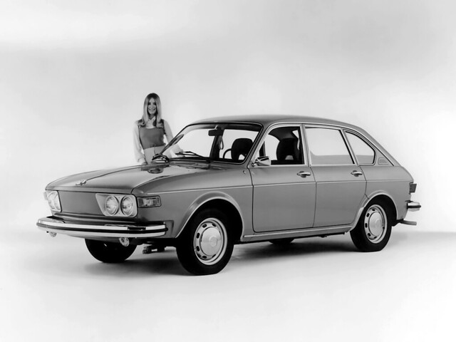 Volkswagen 412 4-door Sedan (Typ 4). 1972 – 1974 годы