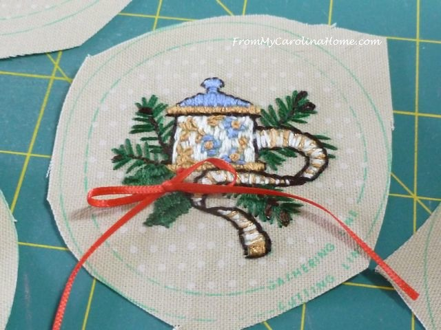 Stitching Ornaments Week 9 - 9