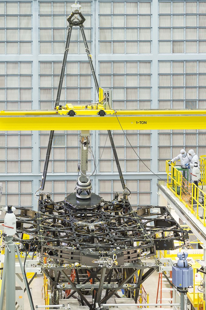 NASA's Webb Space Telescope Receives First Mirror Installation